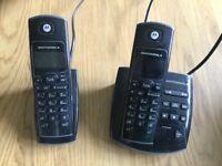 MOTOROLA 2 set phone with answering machine