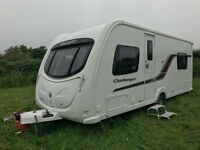 Swift Challenger 540 touring caravan