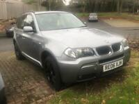 BMW X3 2.0d M Sport 2006 full mot showroom condition throughout !!!