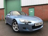 2003 (03) Honda S2000 2.0 Roadster 76,000 MILES 2 OWNERS IMMACULATE FULL SERVICE HISTORY 4X TYRES