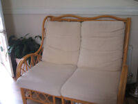 two seater sofa - £15