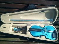 Violin. With Case-Bow-Chin rest and Rosin.