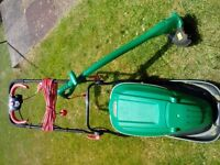 Qualcast hover mower and trimmer