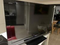 Sony 40 inch TV for parts - KDL40W5810U - used - flashing LED