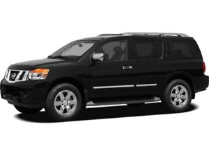 2012 Nissan Armada Platinum Edition Platinum Ed., Leather, 7-...