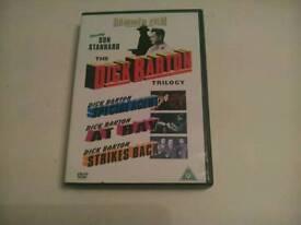 THE DICK BARTON TRILOGY (HAMMER FILMS) 3 DISC BOX SET *** £ 5 **** AS SHOWN.