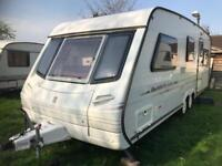 Caravan 4/5/6 berth Abbey Spectrum twin axle 1998 fantastic condition awning available