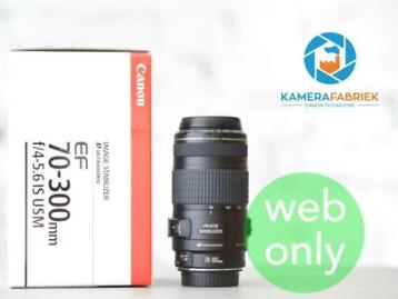 Canon EF 70-300mm f/4-5.6 IS USM - (70-300 mm)