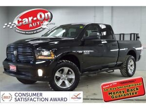 2013 Ram 1500 Sport 4x4 LEATHER HTD SEATS ONLY 48,000 KM