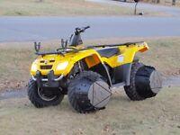 J-wheelz for ATV, UTV and 6-wheels