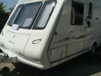 4 berth touring Omega Compass 484 caravan 2007