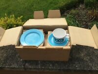 Vintage tea set in box brand new never used