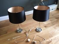 Next Table Lamps - excellent condition
