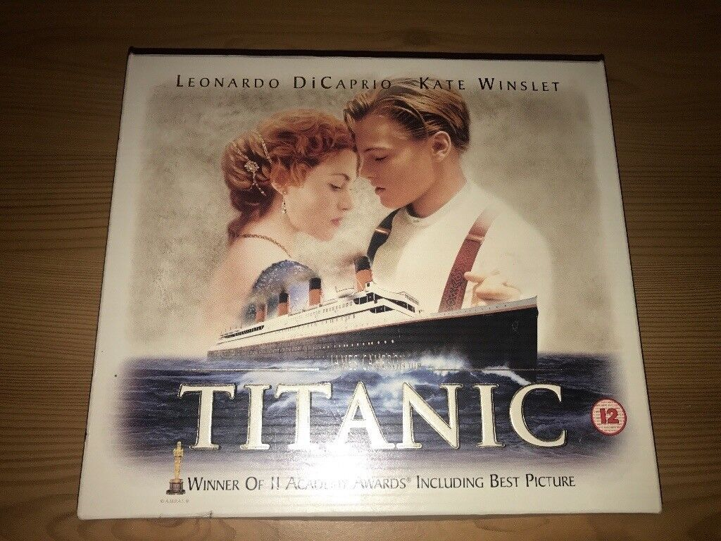 Titanic 1997 collectors edition with CD and 1997 vouchers