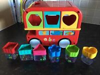 Early learning centre sorting bus