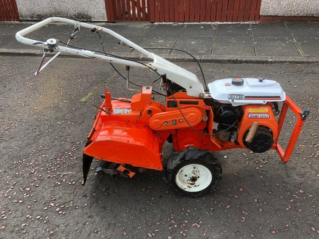 Kubota rotovator rotavator tiller/plough | in Larkhall, South Lanarkshire |  Gumtree