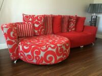 NEW STUNNING DFS CORNER SOFA CAN DELIVER FREE