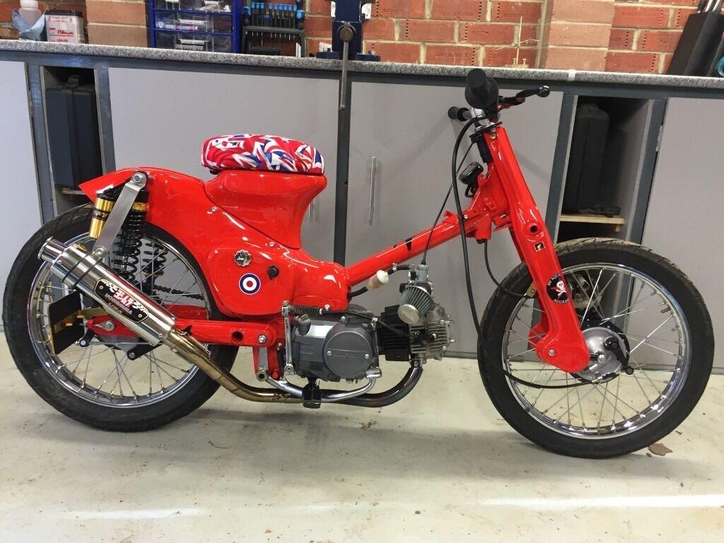 Motor Honda Street Cub