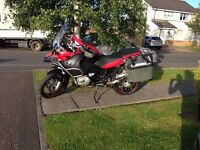 BMW GSA 1200R - 2008 (58) model - MOT & service June 17 - Full service history -excellent condition