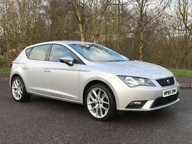 2013 SEAT LEON 1.6 TDI SE NEW MODEL***FREE ROAD TAX***FINANCE AVAILABLE***(NOT VOLKSWAGEN GOLF AUDI)
