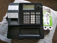 Casio cash register + till rolls