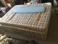 Devan double bed with headboard