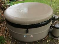Canadian Spa Swift Current portable hot tub.