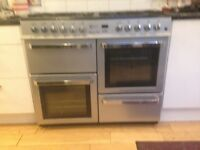1M wide duel fuel range cooker FREE to collector