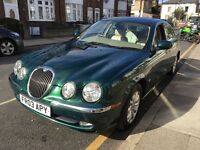 Jaguar s type 2.5 v6 exclusive low milage Qiuck sale