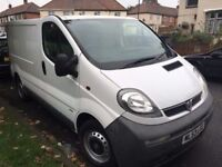2003 Vauxhall VIVARO 2900 DI SWB.BRAND NEW MOT BRILLIANT DRIVE.ROOF RACK AVAILABLE. BULKHEAD.NO VAT.