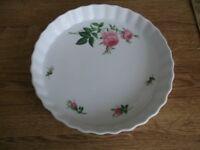 Christineholm 'Pink Roses' Flan Dish