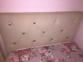 Single crystal bed