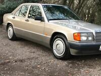 Mercedes 190e appreciating classic very clean inside and out