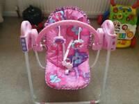 Fisher Price Rocker Swing Baby Bouncer !!! Like NEW
