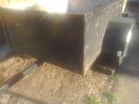 A handy car camping or diy trailer 4feet x 3feet 20inchers tex