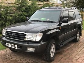 Landcruiser 100 Series VX 4.2 Turbo Diesel 2001 12 mth MOT, all weather tyres, service history