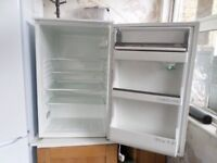 White Zanussi Built in Fridge