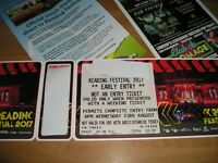 Reading Festival Early Bird Camping ticket - Wednesday entrance.