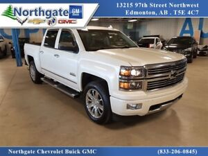 2015 Chevrolet Silverado 1500 High Country, 6.2 ltr, Sunroof, Le