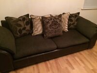 Sofa (large) and Armchair