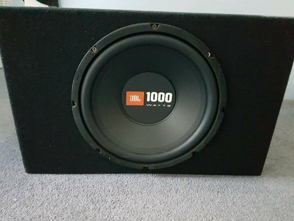 JBL 1000w sub 750 rmsin Harrow, LondonGumtree - JBL 1000w sub 750 rms. In perfect working condition. I also have an amp and speakers for sale on my profile. Contact me for more details, thank you