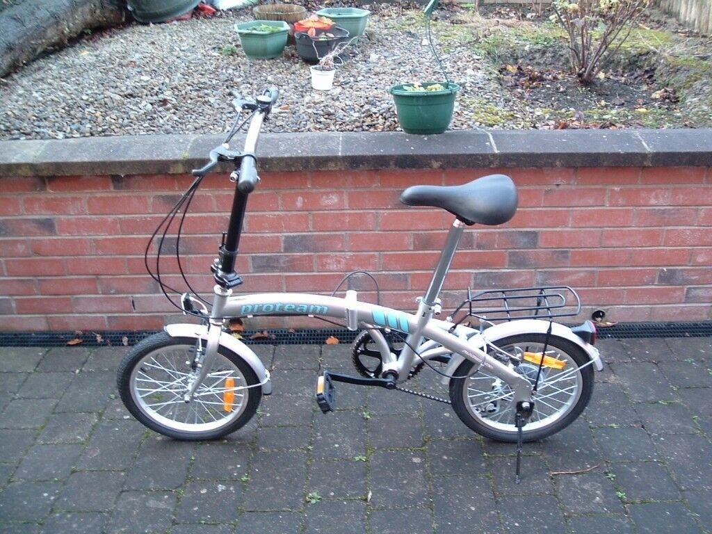 PROTEAM FOLDING BIKE. Unwanted gift, in as new condition, never been taken out on the road