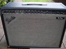 """Fender 'The Twin' 2 x 12"""" all valve electric guitar amplifier - '87-'92 - USA - 100 watt"""
