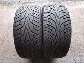 bmw x5 tyres hankook a pair 275 40 20 inch