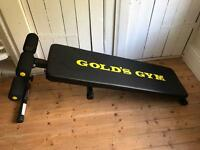 Gold's Gym Adjustable Sit Up / Ab Board