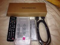 SAMSUNG ONE CONNECT MINI BOX BN96-35817G JU & JS SERIES TV'S WITH TWO REMOTES