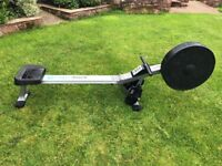 ROGER BLACK AIR ROWING MACHINE (good condition, foldable, collection only)