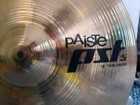 "Paiste 18"" crash cymbal"