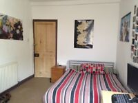 Sunny, double bedrooom, quiet st, Southville £530 pcm (incl all bills)