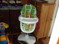 GOOD CONDITION - CHILDS FEEDING HIGH CHAIR